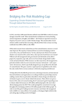 Bridging the Risk Modeling Gap: Expanding Climate-Related Risk Insurance Through Global Risk Assessment