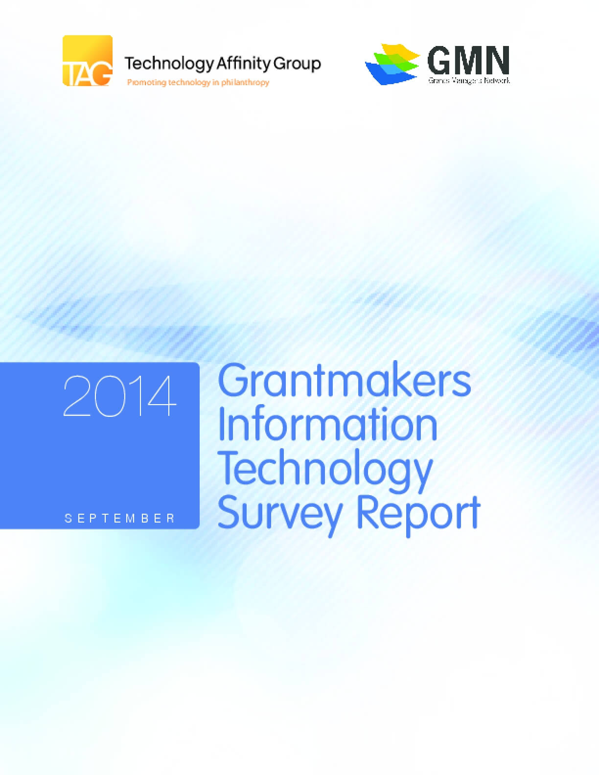 2014 Grantmakers Information Technology Survey Report