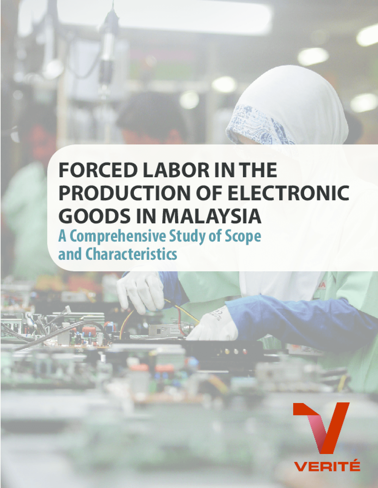 Forced Labor in the Production of Electronic Goods in Malaysia: A Comprehensive Study of Scope and Characteristics