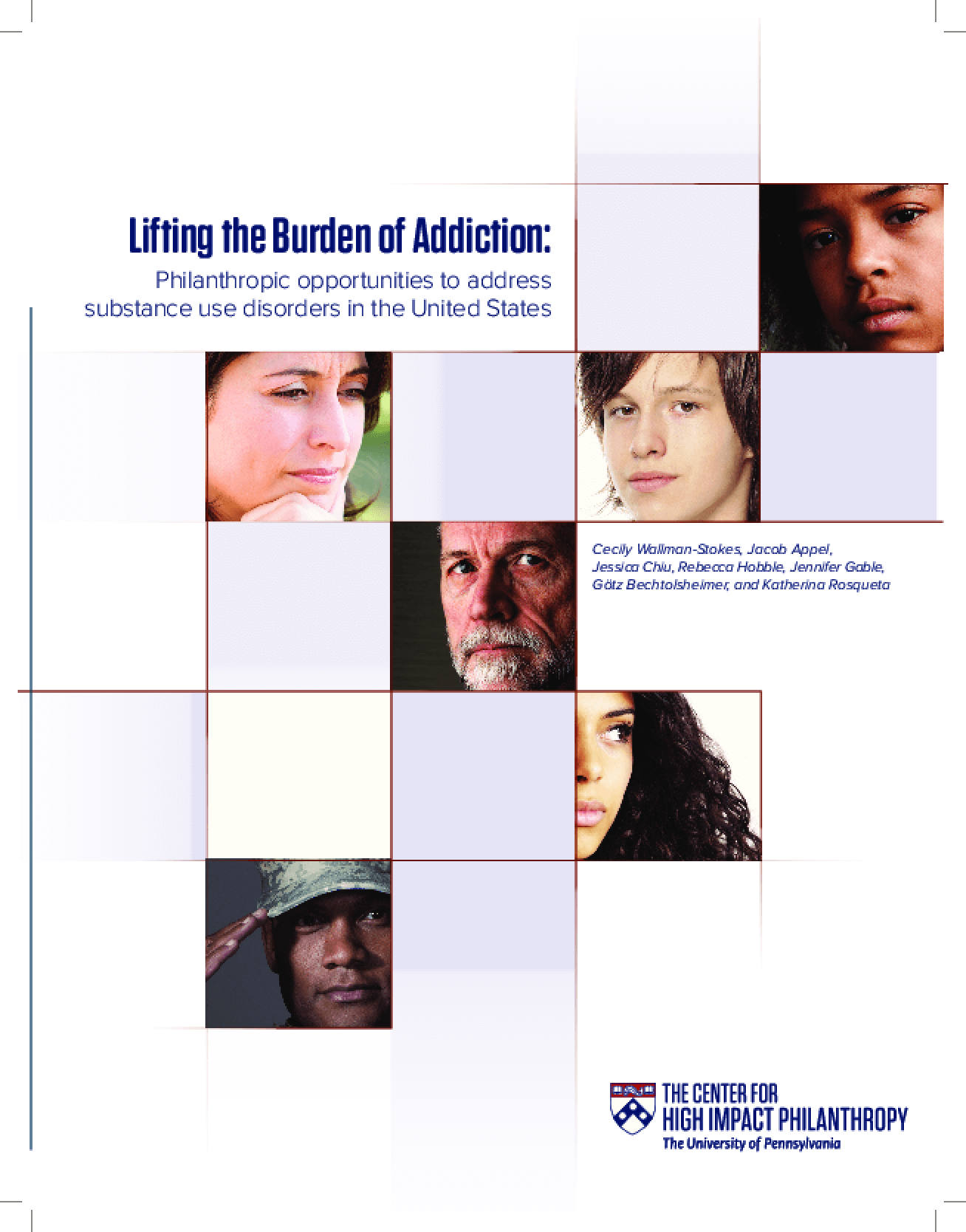 Lifting the Burden of Addiction: Philanthropic Opportunities to Address Substance Use Disorders in the United States