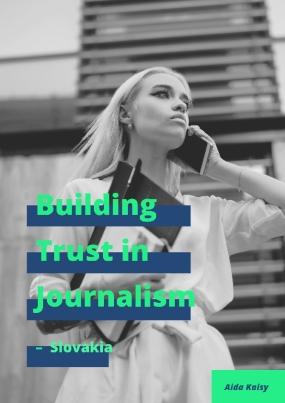 Building Trust in Journalism – Slovakia
